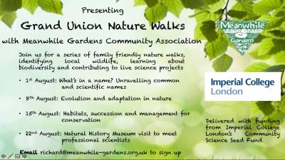 Grand Union Nature Walks
